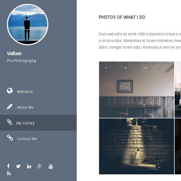 portfolio homepage responsive design presentation a8system